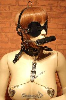 BDSM スレーブ フェイス ボンテージ キット H37 顔拘束 システム