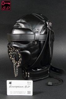 SM ヨーロピアン BDSM ハード ボンテージ ドレイン 全頭 マスク 068