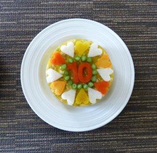 ディナーケーキ(お魚 サイズ:Petit プティ)