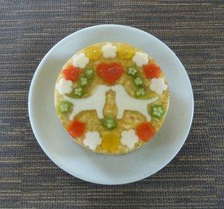 ディナーケーキ(お魚 サイズ:Party Gran パーティグラン)