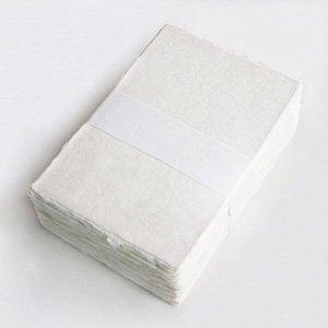 〈プレミアムアウトレット〉手すき和紙 ハガキサイズ[100枚]カードにも