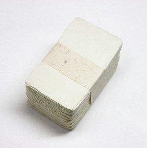 〈プレミアムアウトレット〉手すき和紙 名刺サイズ(大)[200枚]カードにも