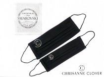 クリスアンクローバー マスク SWAROVSKY付き SMサイズ/MLサイズ