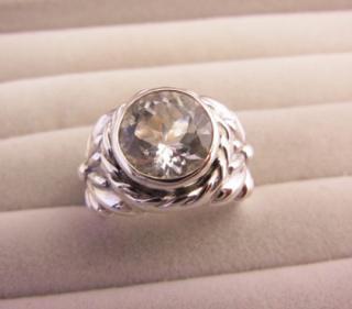 キラキラブラジル水晶のdropflower