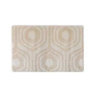 無染色の綿キッチンマット 65cm×100cm メッツア(森) 北欧