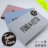 名入れ フォトアルバム [ フキダシ ] Together Forever (メール便 送料無料)