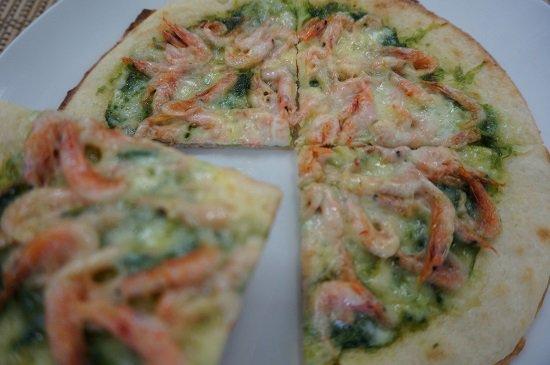 しらすやの桜えびピザ