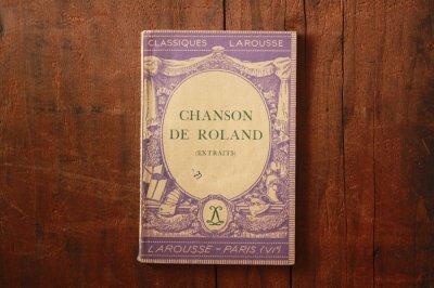 洋古書 Chanson De Roland(フランス語)
