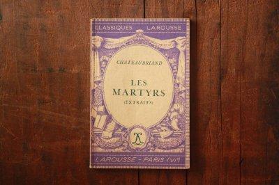 洋古書 Les Martyrs(フランス語)