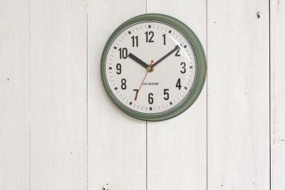 ウォールクロック Walsh掛け時計 グリーン
