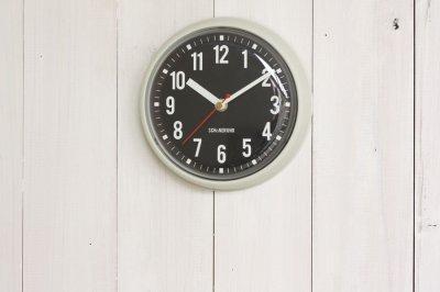 ウォールクロック Walsh掛け時計 アイボリー