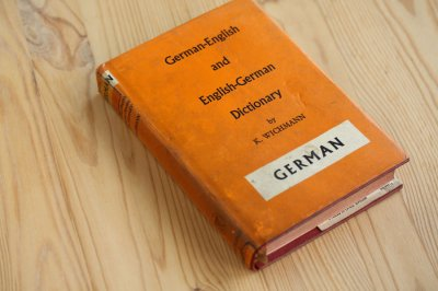 洋古書 German-English Dictionary(ドイツ語)