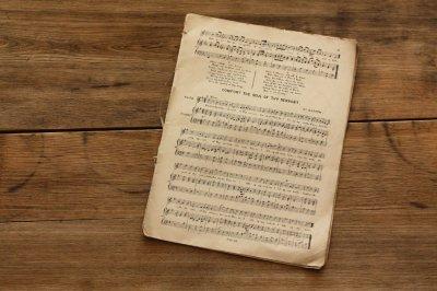 イギリス 楽譜