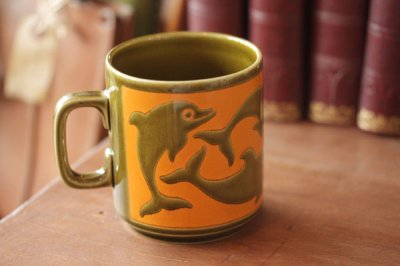 Hornsea(ホーンジー) ドルフィンマグカップ
