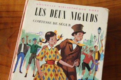 洋古書 Les Deux Nigauds(フランス語)