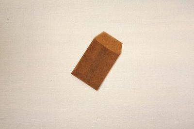 オイルペーパーバッグ 平袋5枚 カードサイズ