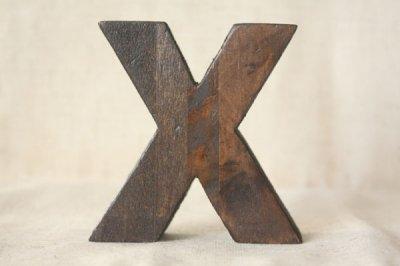 リサイクルウッドレター X