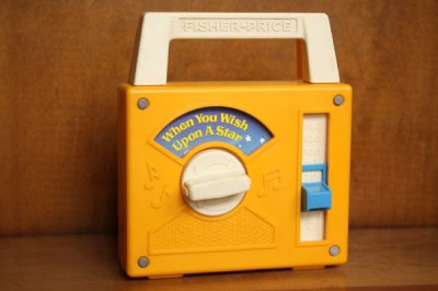 Fisher Price(フィッシャープライス) ラジオ型オルゴール When You Wish Upon A Star