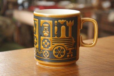 Hornsea(ホーンジー) 機関車マグカップ
