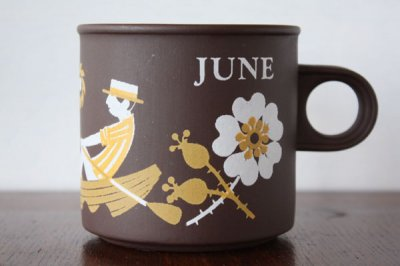 <img class='new_mark_img1' src='//img.shop-pro.jp/img/new/icons20.gif' style='border:none;display:inline;margin:0px;padding:0px;width:auto;' />【11thSALE】Hornsea Lovemugs(ホーンジー / ラブマグ) マグカップ June 6月