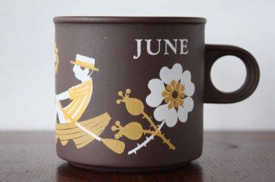 Hornsea Lovemugs(ホーンジー / ラブマグ) マグカップ June 6月
