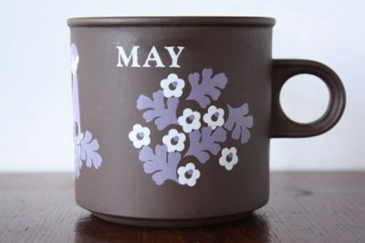 Hornsea Lovemugs(ホーンジー / ラブマグ) マグカップ May 5月