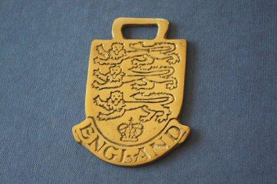 イギリス 真鍮プレート England
