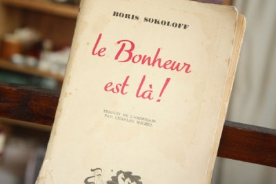 洋古書 Le Bonheur Est La(フランス語)