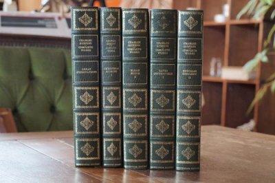 洋古書 Charles Dickens 5冊セット