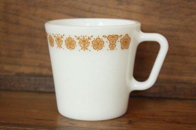 Pyrex(パイレックス) バタフライゴールド マグカップ
