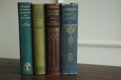 洋古書4冊セット
