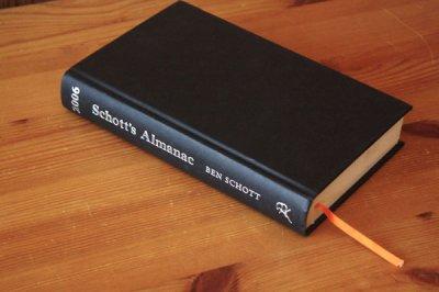 洋古書 Schott's Almanac