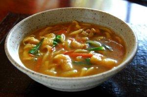 【煮込み】カレーうどん(生麺) スープ付 4袋入(8食入)