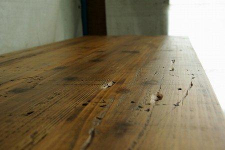 オールドシダー鉄脚テーブル001