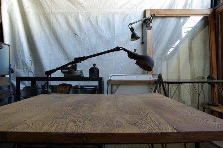 OLD NARA table楢(ナラ)古材テーブル