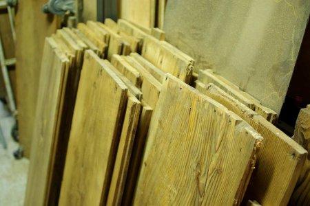 a lot of antique pine