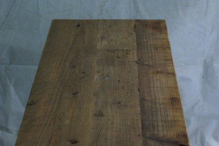 古い足場板天板・横ハギ板