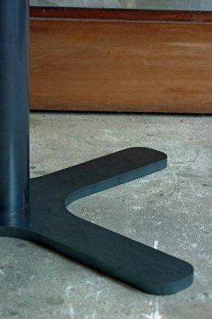 カフェテーブル脚/CROSS LEG BACE 鉄脚