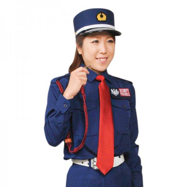 2001TL女子立襟シャツ〈ナス紺〉