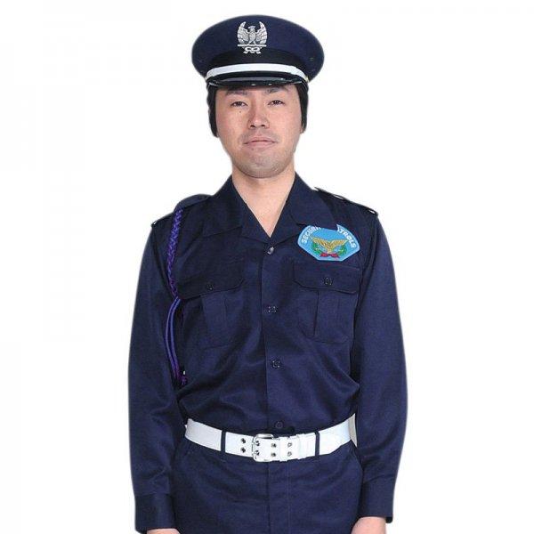 1401KL男子開襟シャツ〈濃紺〉