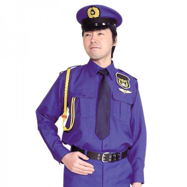 1503TL男子立襟シャツ 〈花紺〉