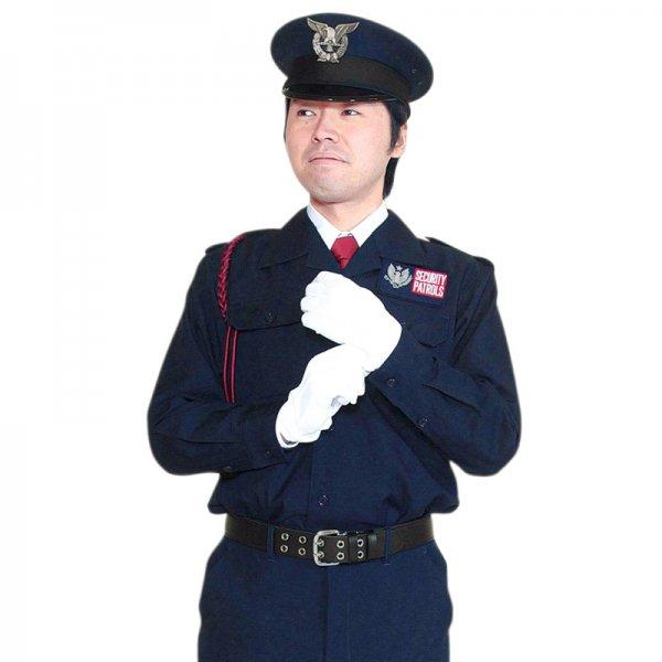 1501KL男子開襟シャツ 〈濃紺〉