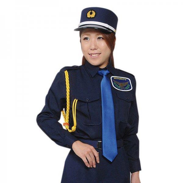 2501TL女子立襟シャツ 〈濃紺〉
