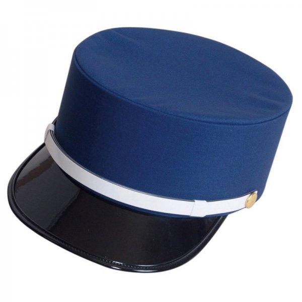 4301 夏ドゴール帽(ナス紺)