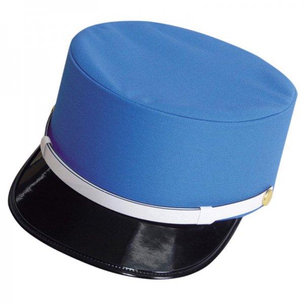 4304 夏ドゴール帽(青)