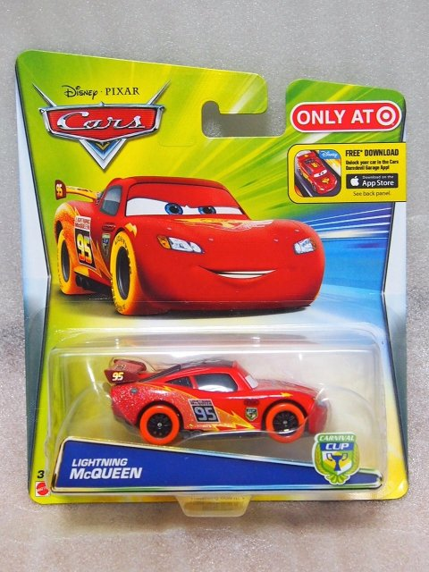 CARNIVAL CUP LIGHTNING MCQUEEN(ORANGE TIRE)