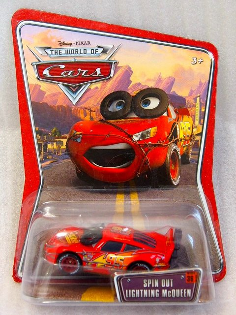 SPIN OUT LIGHTNING MCQUEEN WOC版