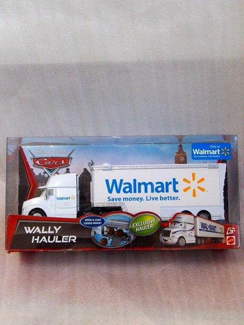 訳有特価】WALLY HAULER 再販前(カーズ2パッケージ)