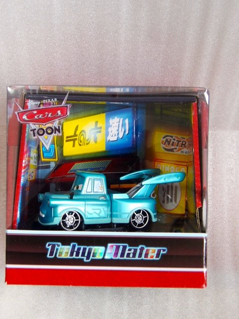 TOKYO MATER  WITH FLAMES METALLIC FINISH 2010年 COMIC CON 限定