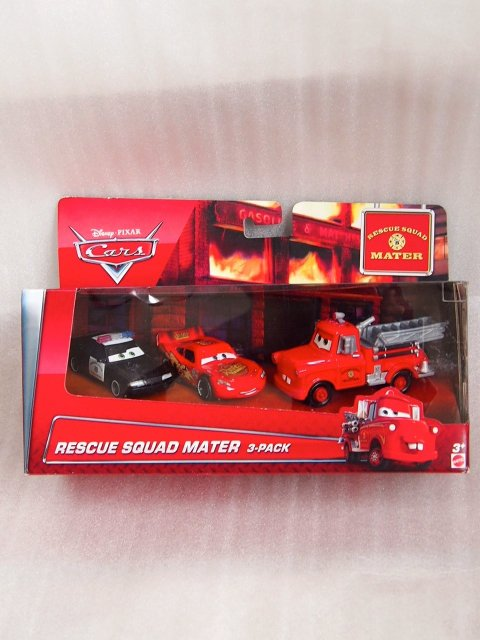 RESCUE SQUAD MATER 3PACK 2016 消防車